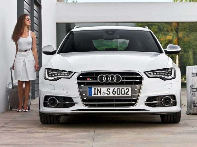Audi S6 C7Avant Estate 4.0 TFSI quattro S tronic Base (2012   teraz)