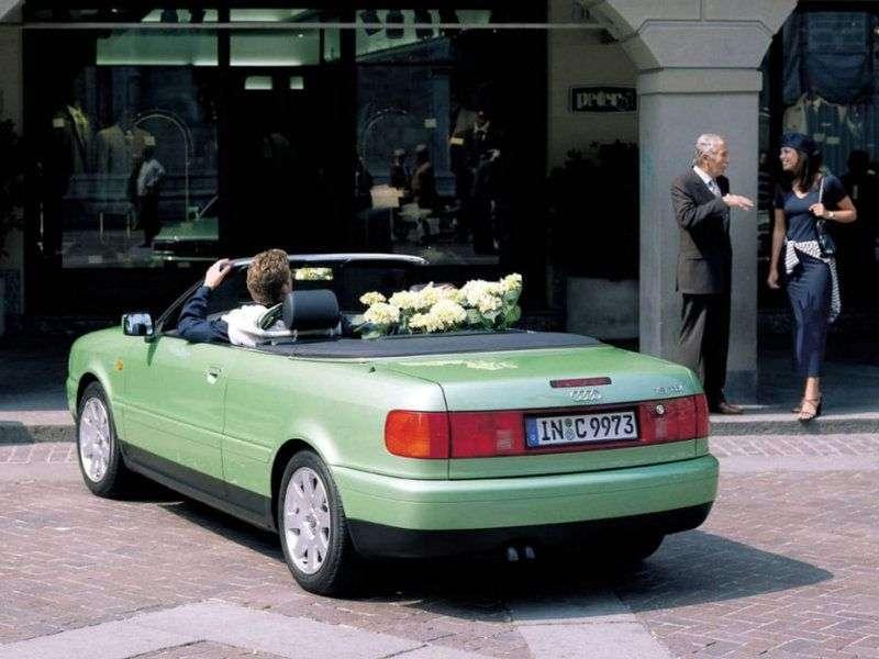 Audi Cabriolet 8G7, B4 cabrio 1.8 1.8 V TFSI MT (1997–2001)