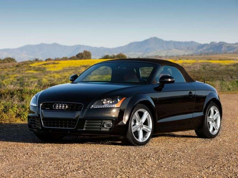 Audi TT 8J [restyling] roadster 2 dv. 2.0 TFSI MT Basic (2010 – present)