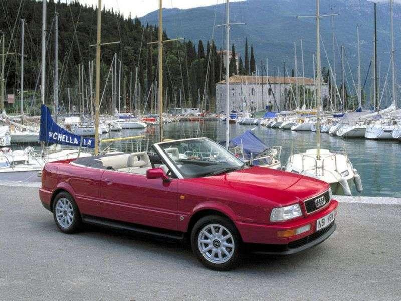 Audi Cabriolet 8G7, B4 Cabrio 1.9 TDI MT (1995–2001)