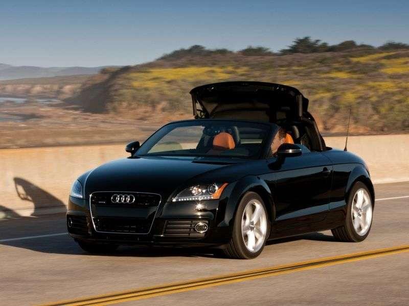 Audi TT 8J [restyling] roadster 2 dv. 2.0 TFSI quattro S tronic Basic (2010 – current century)