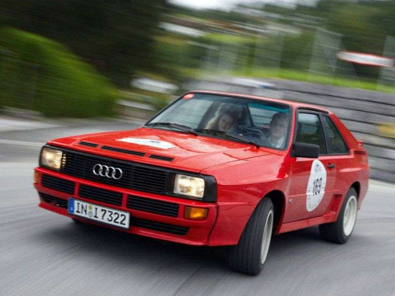 Audi Quattro 85 Coupe 2.1 20V Turbo MT (1984–1987)
