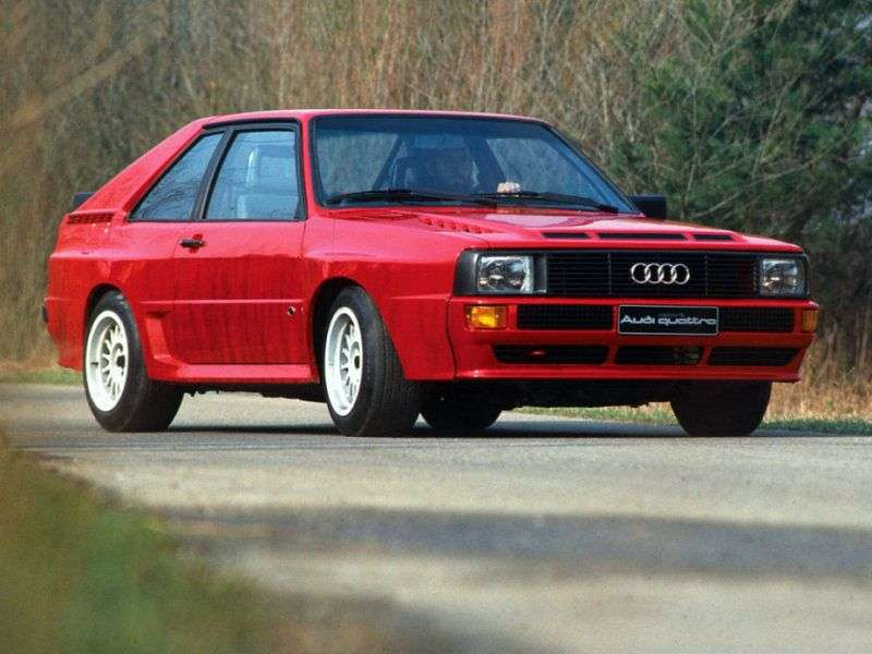 Audi Quattro 85 Coupe 2.1 Turbo MT (1980–1987)