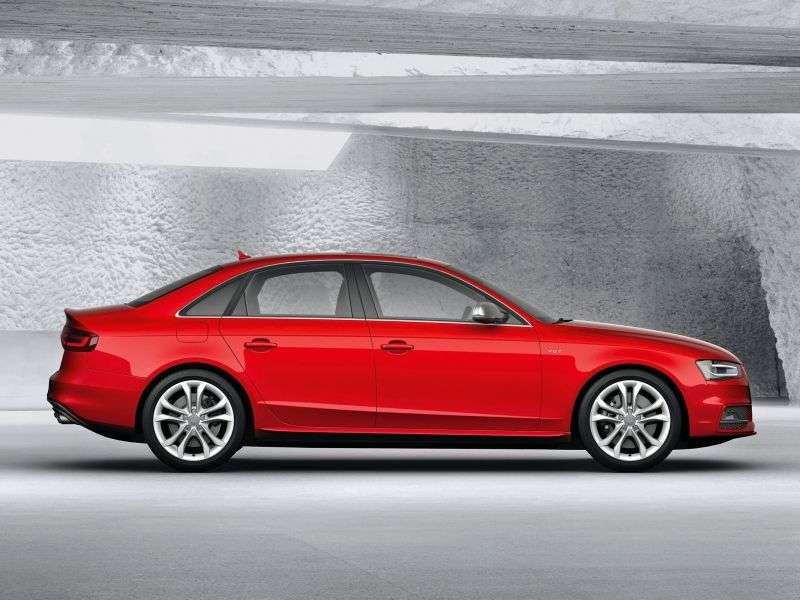 Audi S4 B8,8K [restyling] 3.0 TFSI sedan quattro S tronic Basic (2011 – n.)