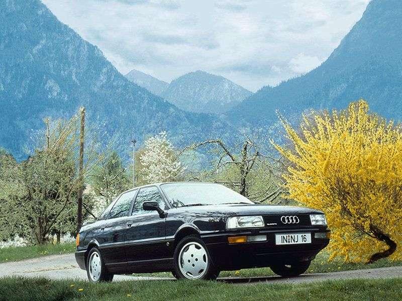 Audi 90 89, B3sedan 2.2 E MT (1987–1991)