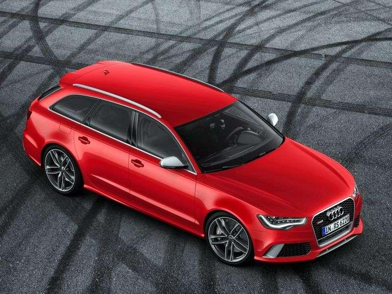 Audi RS6 C7Avant wagon 4.0 TFSI quattro Tiptronic Basic (2013 – v.)
