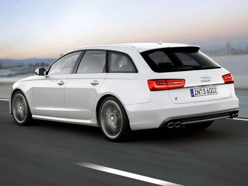 Audi S6 C7Avant wagon 4.0 TFSI quattro S tronic Basic (2012 – present)