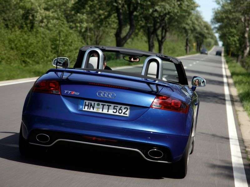 Audi TT 8J [restyling] RS roadster 2 dv. 2.5 TFSI quattro S tronic Basic (2012 – current century)