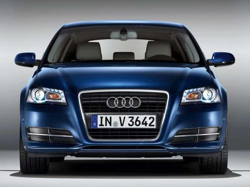 Audi A3 8P / 8PA [2nd restyling] Sportback hatchback 5 bit. 1.8 TFSI MT Ambiente (2008–2013)