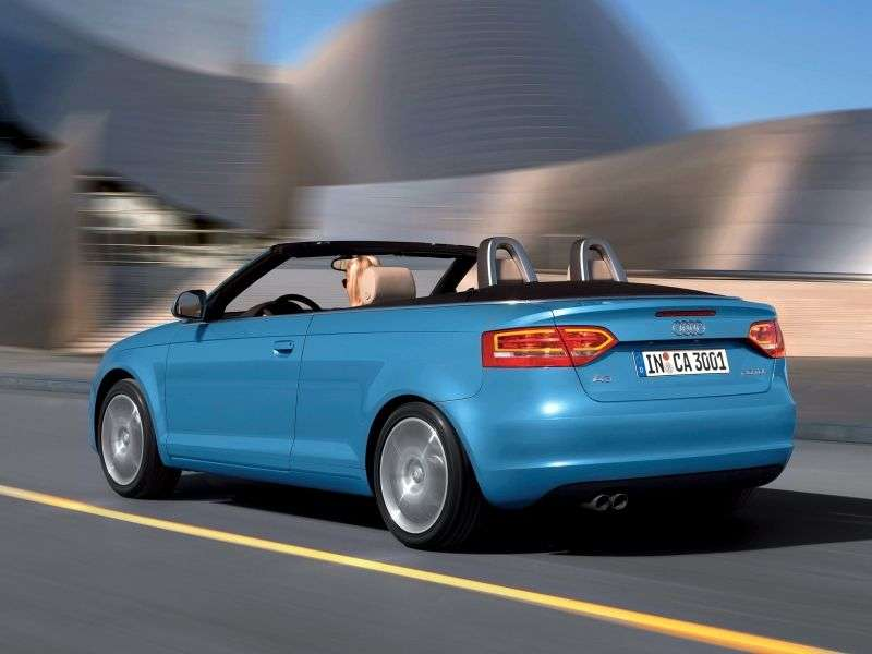 Audi A3 8P / 8PA [2nd restyling] 1.4 TFSI MT Convertible (2008–2013)