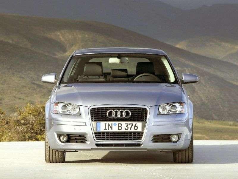 Audi A3 8P / 8PA [restyling] 3 bit hatchback 1.8 TFSI MT (2008–2008)