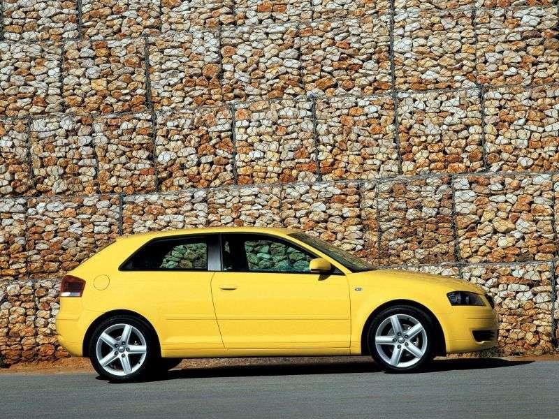 Audi A3 8Phetchbek 3 dv. 2.0 TDI S tronic (2003–2005)