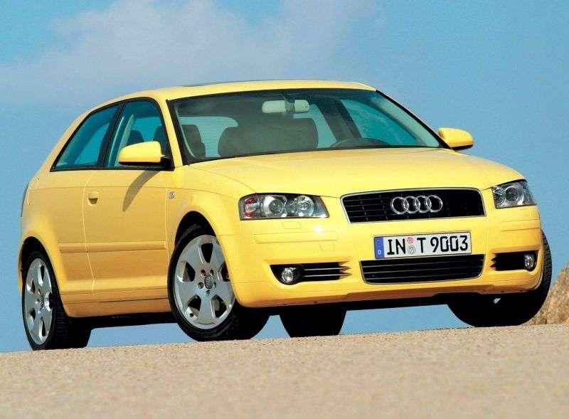 Audi A3 8Phetchbek 3 dv. 2.0 FSI Tiptronic (2003–2005)
