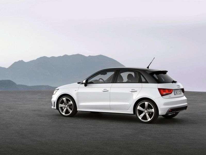 Audi A1 1st generation Sportback hatchback 5 dv. 1.4 TFSI MT Ambition (2011 – current century.)