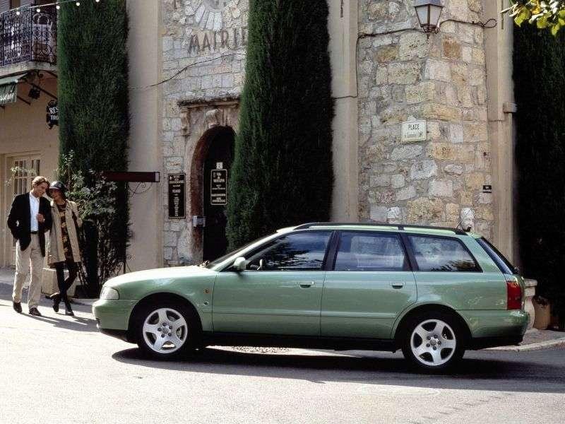 Audi A4 B5universal 5 bit 2.4 MT (1996–1999)
