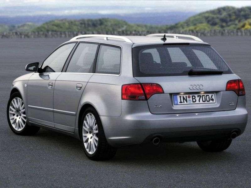 Audi A4 B7 Universal 2.0 TFSI quattro MT (2005–2008)
