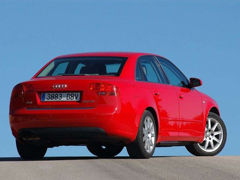 Audi A4 B7 sedan 3.2 FSI quattro AT (2004 2007)