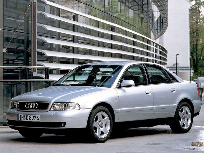 Audi A4 B5 [restyling] 2.5 TDI AT sedan (1999–2001)