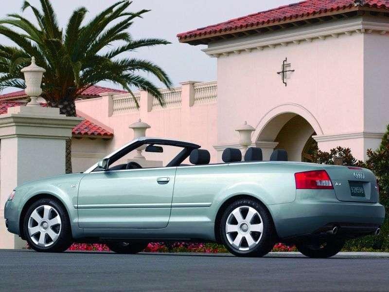 Audi A4 B6 cabriolet 3.0 quattro AT (2002–2005)