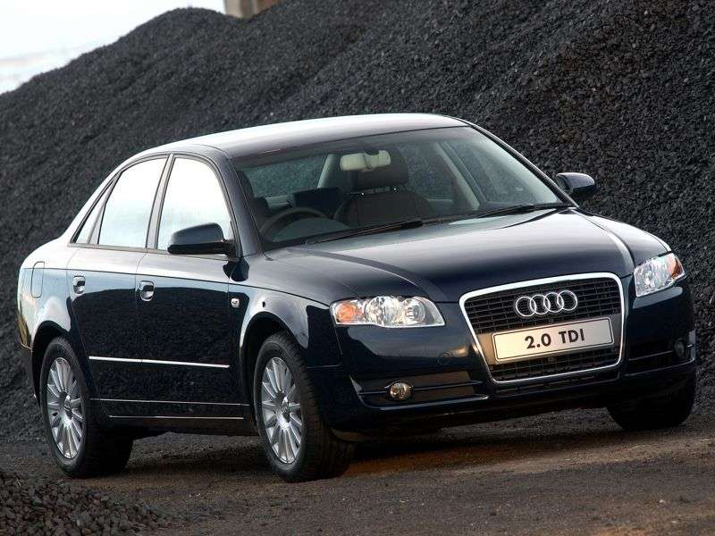 Audi A4 B7 sedan 2.7 TDI MT (2004 2007)