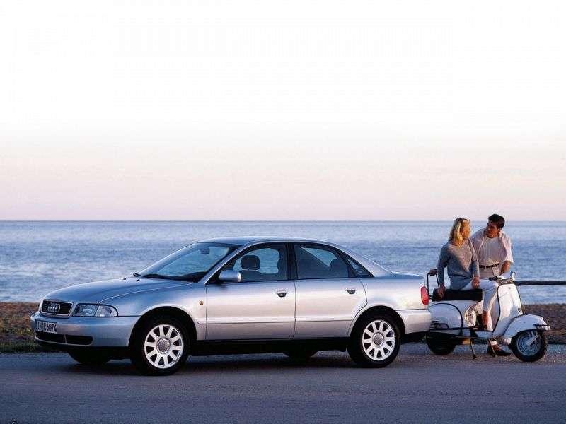 Audi A4 B5 sedan 2.8 quattro AT (1995–1999)