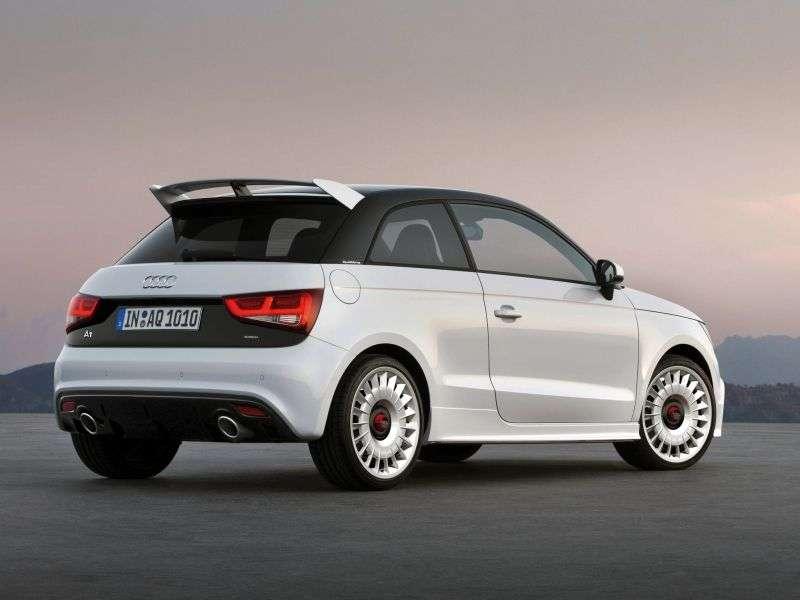 Audi A1 1st generation quattro hatchback 3 bit. 2.0 TFSI quattro MT (2012 – current century)