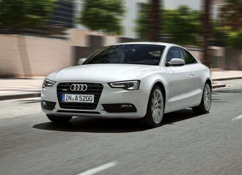 Audi A5 1st generation [restyling] Coupe 2.0 TFSI multitronic Basic (2011–2013)