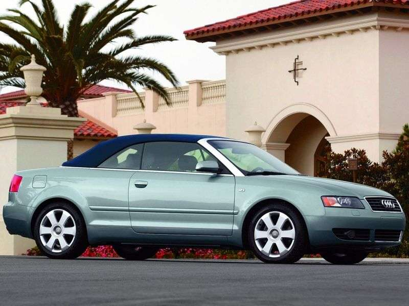 Audi A4 B6 Cabrio 2.5 TDI MT (2002 2005)