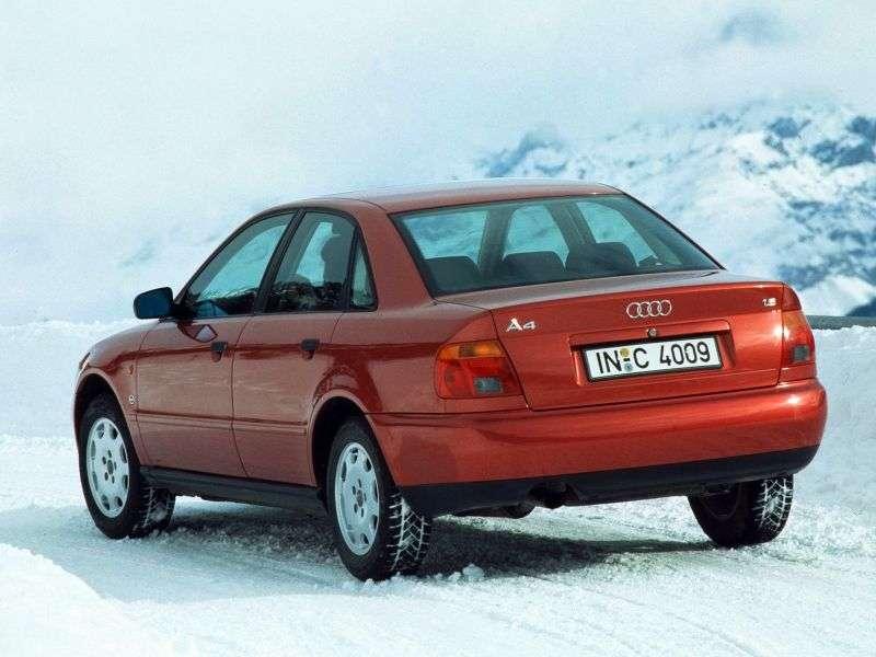 Audi A4 B5 sedan 1.9 TDI quattro MT (1995–1999)