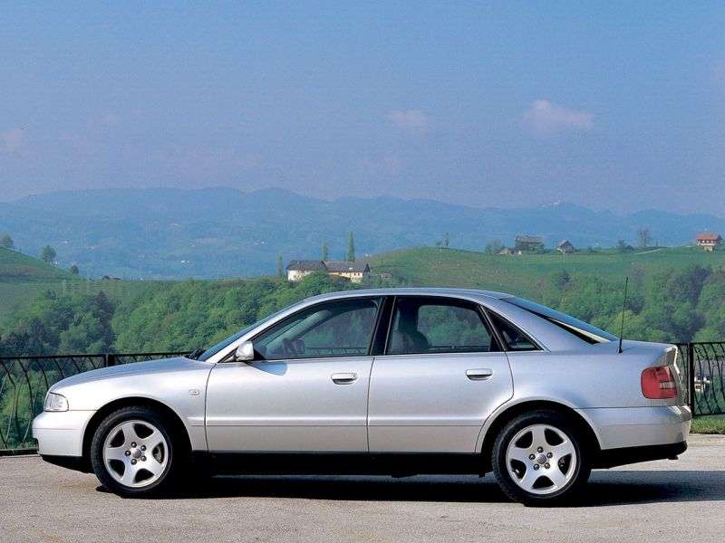 Audi A4 B5 [restyling] 1.9 TDI MT sedan (1999–2001)