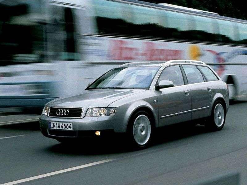 Audi A4 B6 kombi 2.0 FSI CVT (2001 2004)