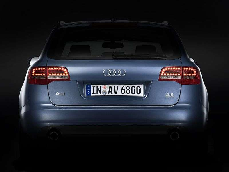 Audi A6 4F, C6 [restyling] Avant wagon 5 dv. 4.2 FSI quattro AT Basic (2008–2011)