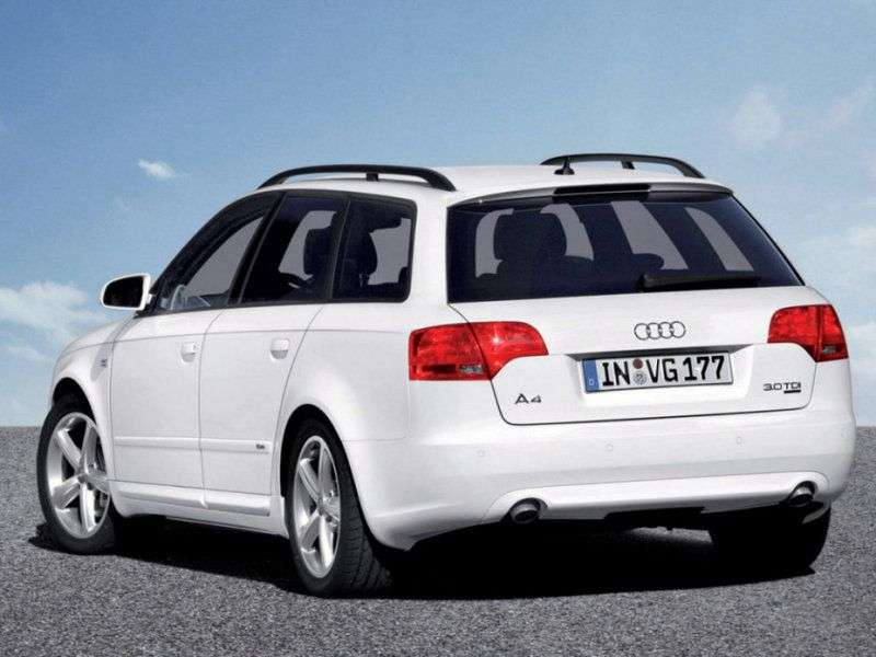 Audi A4 B7 Universal 2.5 TDI CVТ (2004–2008)