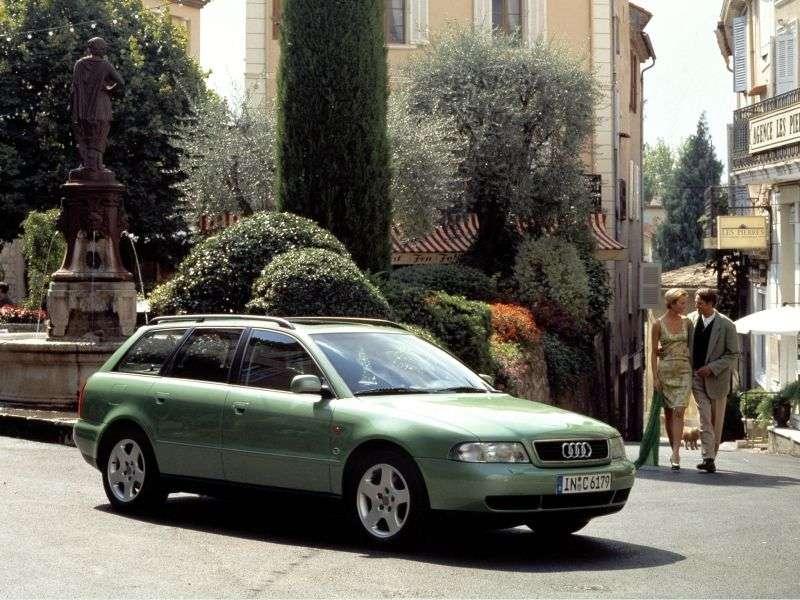 Audi A4 B5universal 5 bit 2.5 TDI quattro AT (1996–1999)
