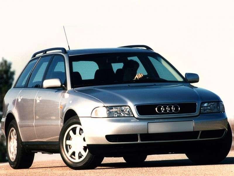 Audi A4 B5universal 5 bit 2.8 AT (1996–1999)