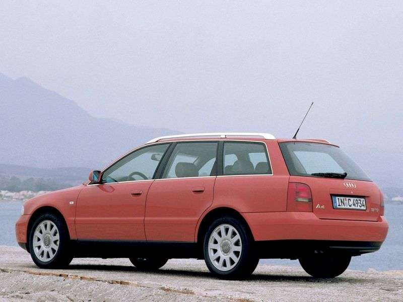 Audi A4 B5 [restyled] station wagon 2.5 TDI MT (1999–2001)