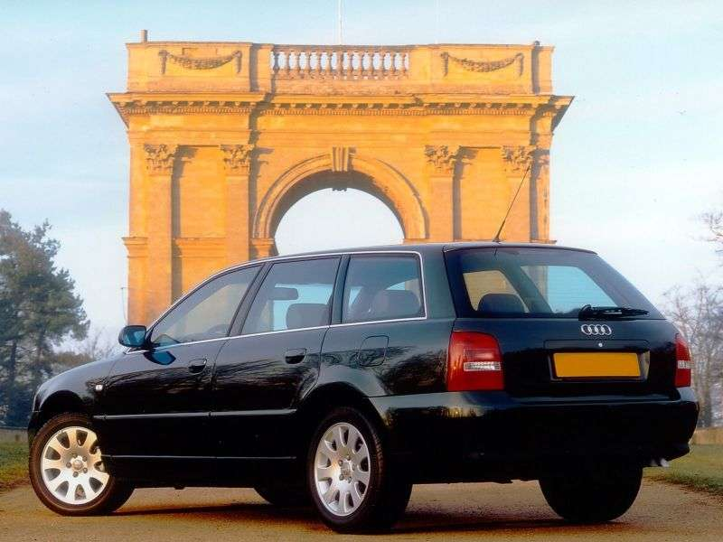 Audi A4 B5 [restyling] station wagon 1.9 TDI AT (1999–2001)