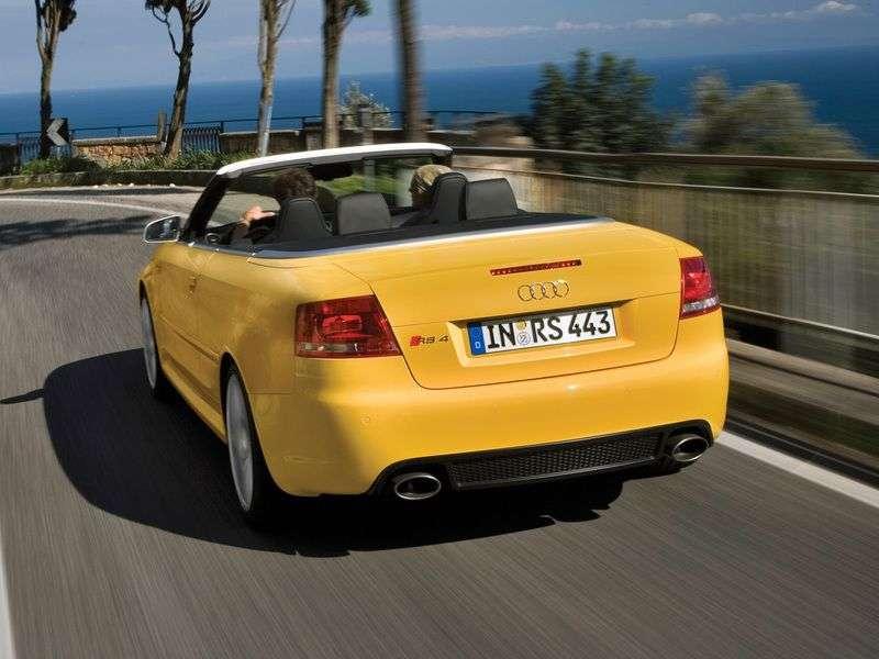 Audi RS4 B7 cabriolet 4.2 FSI quattro MT (2006–2008)