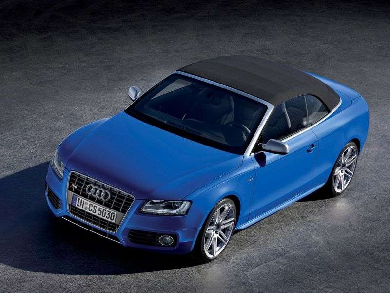 Audi S5 1st generation convertible 3.0 TFSI quattro AMT Basic (2009–2011)