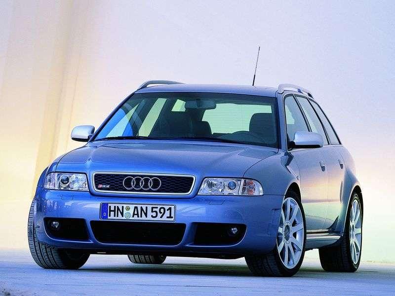 Audi RS4 B5 kombi 2.7 TFSI quattro MT (2000 2001)