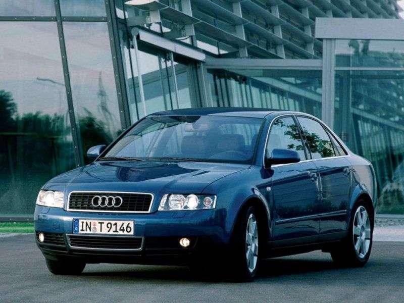 Audi A4 B6 Sedan 1.6 MT (2001 2004)