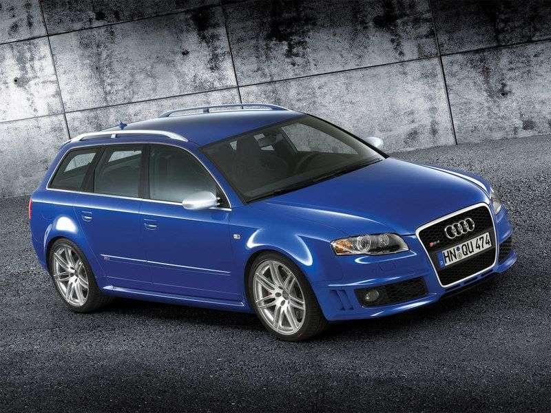 Audi RS4 B7universal 4.2 FSI quattro MT (2006–2008)