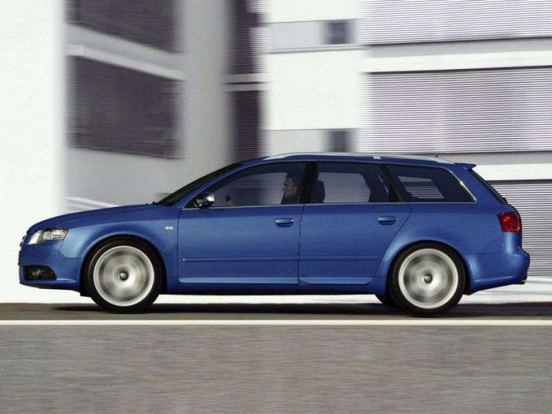 Audi S4 B7,8Universal 4.2 quattro AT (2004–2009)