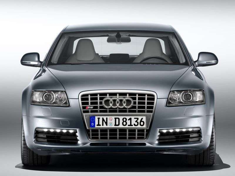 Audi S6 C6 [restyling] 5.2 FSI V10 quattro AT sedan (2008–2011)