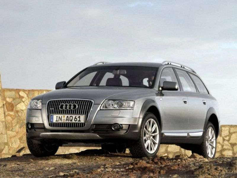 Audi A6 4F, C6 Allroad quattro station wagon 3.2 FSI quattro AT (2006–2008)