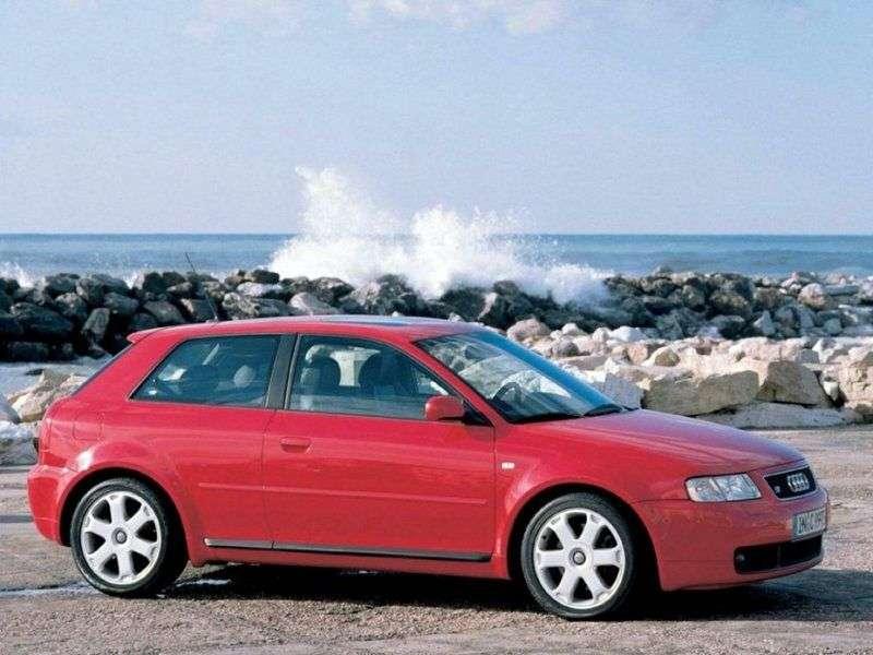 Audi S3 8Letchback 1.8 T quattro MT (1999–2001)