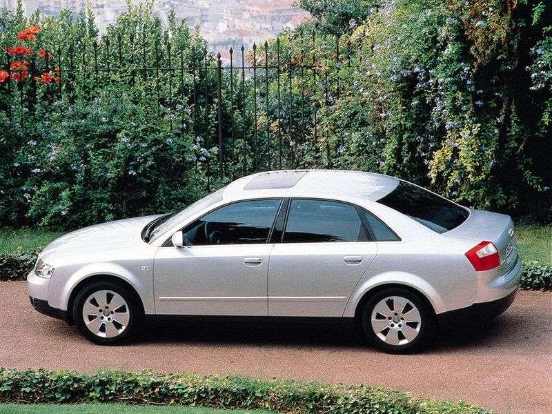 Audi A4 B6 sedan 3.0 CVT (2001–2004)