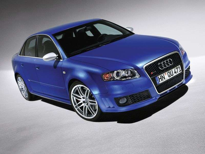 Audi RS4 B7 sedan 4.2 FSI quattro MT (2005 2008)