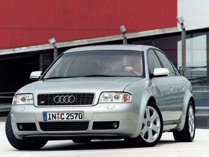 Audi S6 C5Sedan 4.2 V8 quattro AT (1999–2001)