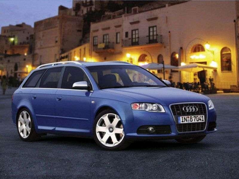 Audi S4 B7,8EUniversal 4.2 quattro MT (2004–2009)